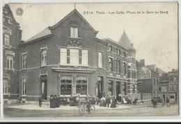 THUIN - Les Cafés - Place De La Gare Du Nord - Thuin