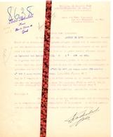 Brief Lettre - Advocaat A. Rodenbach Gent - Naar Kadaster 1928 Ivm Eigendom August De Muyt Eeklo + Antwoord - Non Classés
