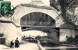 TOUL Le Canal Et La Canonnière - Toul