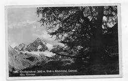 (RECTO / VERSO) GROSSGLOCKNER EN 1948 - N° 7496 - BLICK V. KÖDNITZTAL - OSTIROL - BEAUX TIMBRES - FORMAT CPA VOYAGEE - Austria