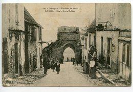 Domme Rue Et Porte Delbos - France