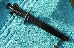 PARA - Couteau Dague Spécial Bérêt Rouge - Poignard De Combat Marque Et Modèle Déposés - - Armes Blanches