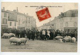 Bergerac Un Coin Du Marché Aux Porcs - Bergerac