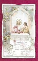 IMAGE PIEUSE .édit Bouasse Jeune N 3948...Communion De René DUVAL, Eglise De ECOUCHE (61) En 1907...2 Scans - Images Religieuses