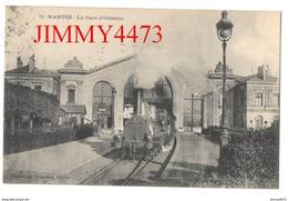 CPA - La Gare D'Orléans En 1908 - Locomotive, Quai Bien Animé - NANTES 44 Loire Inf. - N° 72 - Phot. Vassellier Nantes - Gares - Avec Trains