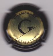 Capsule Champagne GREMILLET ( Nr ; Or Contour Noir ) {S35-19} - Zonder Classificatie