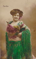 ARTISTE PILAR CILLA    FRAU LADY  ESPAGNOLE   SIGNATURE MADRID J C   CPA  CIRCULEE - Artisti