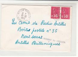 Grenada / Missent Mail / Guadeloupe - Grenada (1974-...)