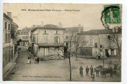 Monpont Sur L'Isle Place Du Triangle - France