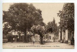 Saint Yrieix Sous Aixe Le Bourg La Place - Saint Junien