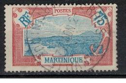 MARTINIQUE               N°     YVERT    123   ( 2 )    OBLITERE       ( Ob  5/17 ) - Gebraucht