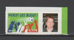 FRANCE / 2006 / Y&T N° 3936B **  Ou AA 85B ** : Merci Les Bleus ! (vignette PHOTO) BdF - Etat D'origine - France