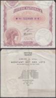 FRANCE BILLET DE LOTERIE NATIONALE 100 Frs 1934  (DD) DC-3901 - Sonstige