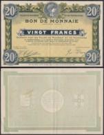 FRANCE BILLET VILLES DE ROUBAIX ET TOURCOING 20 Frs 1916 (DD) DC-3902 - Bonos