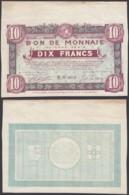 FRANCE BILLET VILLES DE ROUBAIX ET TOURCOING 10 Frs 1916 (DD) DC-3905 - Bons & Nécessité
