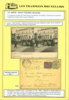 """BELGIQUE EP 5c +COB48 EN EXPRES """"TRAM"""" EN MANUSCRIT DE ANVERS 12/11/1890  RRRR (DD) DC-3909 - 1884-1891 Léopold II"""