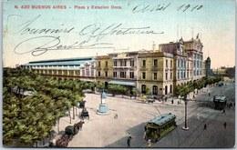 ARGENTINE - BUENOS AIRES - Plaza Y Estacion Once - Argentine