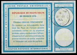 HAUTE VOLTA / UPPER VOLTAVi20 55 FR.InternationalReply Coupon Reponse Antwortschein IAS IRC o OUAGADOUGOU 19.11.71 - Burkina Faso (1984-...)