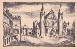 Nederland - Entier Postal Stationery - Carte Illustrée (Cathédrale)  - Cachet Conférence Postale  - 1927 - Entiers Postaux