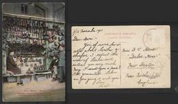 Azerbaijan,Baku, Shoe Shop, Cobblers, Used  BAKU  1911, Stamp Removed - Shops