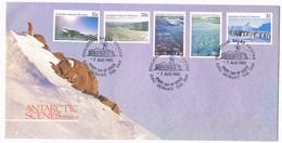 AUSTRALIAN ANTARCTIC TERRITORY (AAT) • 1985 • Antarctic Scenes: Series II • First Day Cover - FDC