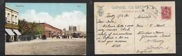 Azerbaijan,Baku, The Quay, Baku,  Used  BAKU 5.12. 1912   4 Kopek Stamp Of Russia > England - Azerbaïjan