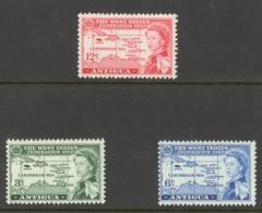 Antigua Sc# 122-124 MNH 1958 West Indies Federation - Antigua & Barbuda (...-1981)