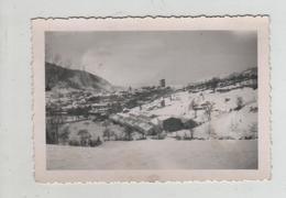 Photo Originale Souvenir Du Camp De Chanac Sous La Neige - Lieux