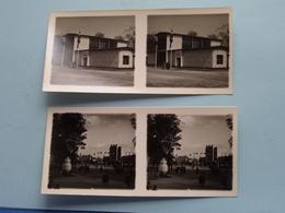 WERELDTENTOONSTELLING Antwerpen 1930 ( Série N° 402 ) ANTWERP Stéréo - Ch. DU HOUX ( Zie / Voir Photos ) ! - Photos Stéréoscopiques