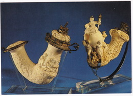 Wien 7 - Österr. Tabak Museum: Prunkpfeife Aus Merschaum / Splendour Meerschaum Pipe (World Exhibition Vienna 1873) - Museos