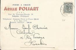 SOIGNIES - Fours à Chaux Arille POLIART Rue Du Nouveau Monde, 20 (vers Herchies) - Soignies