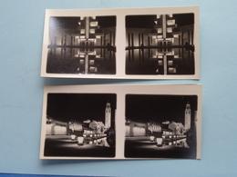 WERELDTENTOONSTELLING Antwerpen 1930 ( Série N° 408 ) ANTWERP Stéréo - Ch. DU HOUX ( Zie / Voir Photos ) ! - Photos Stéréoscopiques