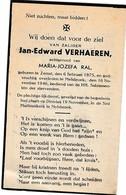 Zemst, Melsbroek, 1946, Jan Verhaeren, Ral - Devotion Images