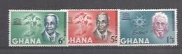 IVERT Nº178/80 **1964  EISTEIN - Ghana (1957-...)