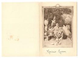 MENU REIMS 2 FEVRIER 1925 MONSIEUR HUSSON - GRAVES MUSIGNY 1904 CHAMPAGNE MUMM 1898 - Menus