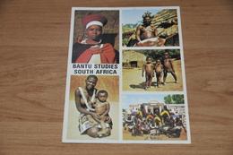 11740-  BANTU SEEN IN NATURAL HABITAT, SOUTH AFRICA - Südafrika