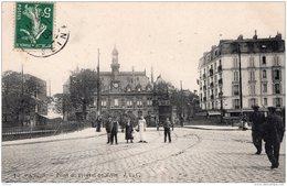 PANTIN PONT DE L'HOTEL DE VILLE 1908 TBE - Pantin