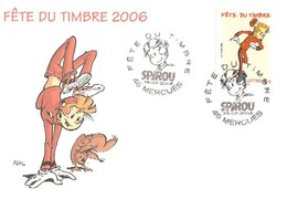 France Carte Maximum 1er Jour 2006 Fête Du Timbre Thème Bande Dessinée SPIROU - 031 - 2000-09