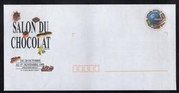 SALON DU CHOCOLAT - PARIS / 1998 PAP - ENTIER POSTAL REPIQUE ILLUSTRE (ref 1798) - Enteros Postales