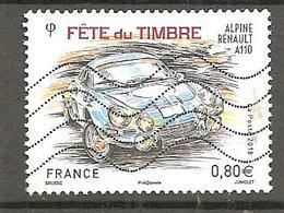 France 2018 - YT 5204 - Oblitéré - Fête Du Timbre - Alpine Renault A110 - Francia