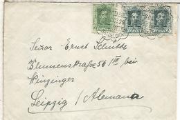 BARCELONA CC ALEMANIA 1929 MAT CARTERIA EXPOSICION INTERNACIONAL DE BARCELONA - Cartas