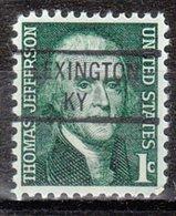 USA Precancel Vorausentwertung Preo, Locals Kentucky, Lexington 841 - Vereinigte Staaten