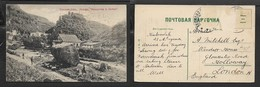 Russia, Kislovodsk, Fortress Of Insidiousness, Used > England ( Stamps Removed) - Russia