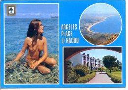 66700 ARGELÈS-PLAGE - Lot De 5 CPM - Voir Détails Dans La Description - Argeles Sur Mer