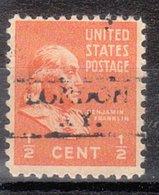 USA Precancel Vorausentwertung Preo, Locals Kentucky, London 728 - Vereinigte Staaten
