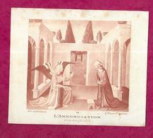 IMAGE PIEUSE...Communion De Michel BOHIN, Eglise Du Prieuré De SAINT SULPICE Sur RILLE (61) En 1918...2 Scans - Images Religieuses