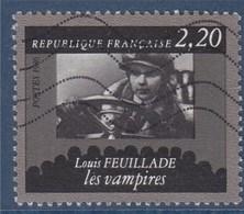 = Cinquantenaire De La Cinémathèque Française, Louis Feuillade, Les Vampires, 2f20 N°2433 Oblitéré - Usados