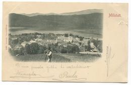 MILLSTATT - AUSTRIA, STENGEL & Co, Year 1898 - Millstatt