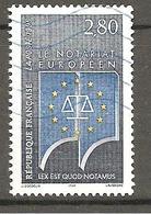 FRANCE 1995 Y T N ° 2924 Oblitéré VAGUE BLEUE - Usados