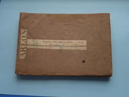 """"""" ARLON """" Kaart Op Katoen / Linnen / Cotton ( 1869 > 1883 > 1900 ) >> ( Zie / Voir Photo Svp ) ! - Cartes Géographiques"""